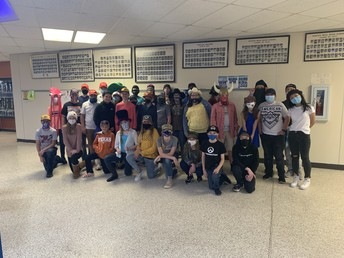 7th grade ~ Hat Day