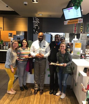 VO Staff at McDonald's Night