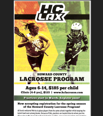 HC LaCrosse Spring Program