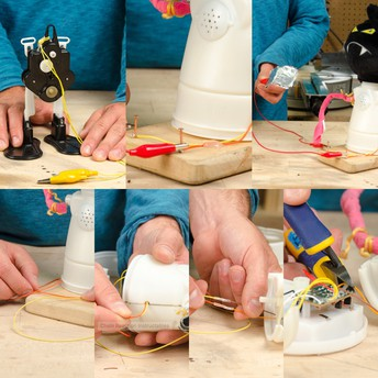 Turning a toy into a Chain Reactions device