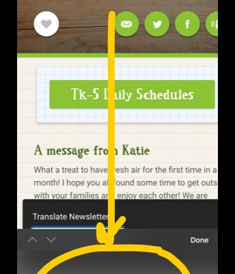 How to translate newsletter Step 3