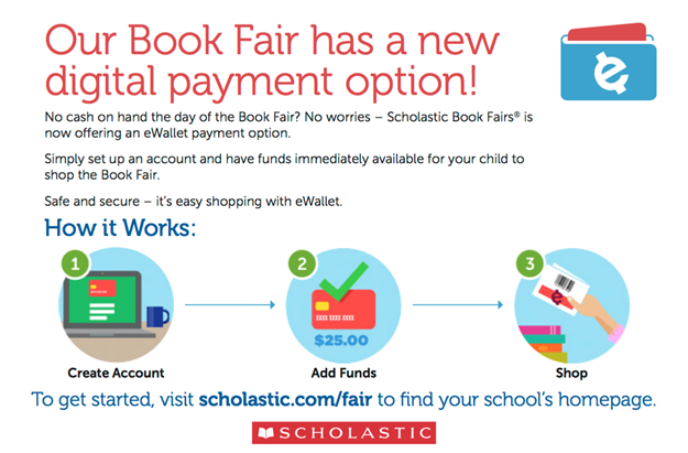 Image result for promoting book fair ewallet