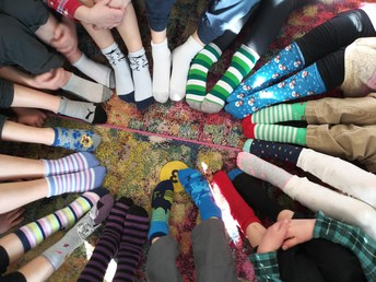 Crazy about Jesus with Crazy Socks