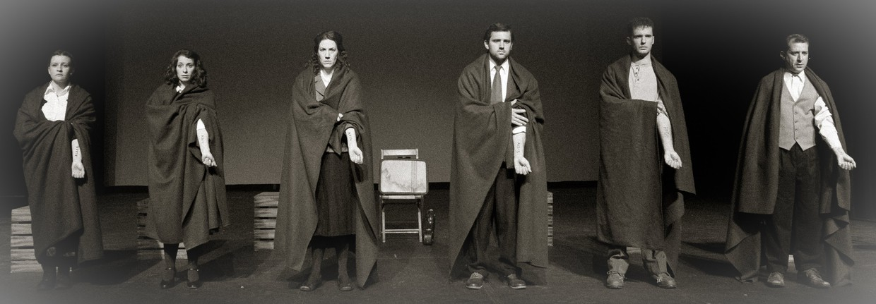 Photo from Wendy Kout's play Survivors.