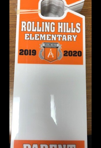 Pick up your NEW RHE Dismissal Tag