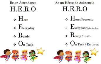 Attendance Incentives for those with Perfect Attendance and Engagement