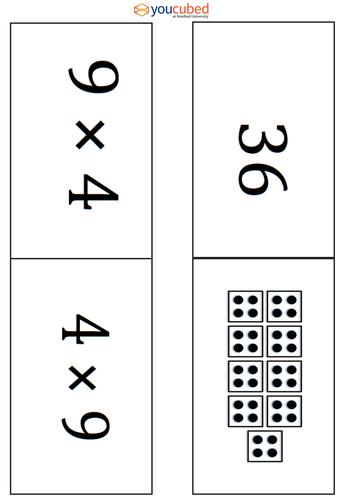Basic Facts: Math Cards - Grades 3-8