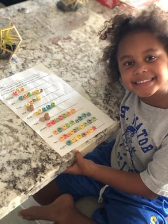 Math Homework in Kindergarten can be DELICIOUS!