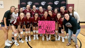 Congratulations Chelsea Lasker - 1000 Set Assist!