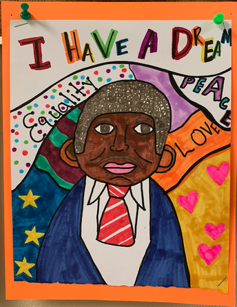 Black History Month Celebrated by Creating Art