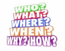 When? Where? Whom?