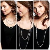 Devon Layering Necklace - Silver