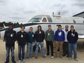 SHISD Students tour Aviation Center at LeTourneau