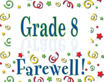 Grade 8 Farewell