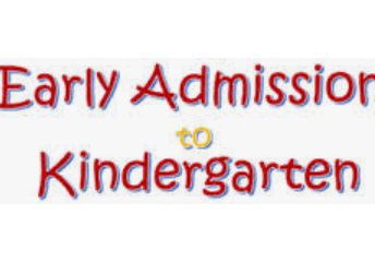 EARLY ADMISSION KINDERGARTEN (EAK) REGISTRATION