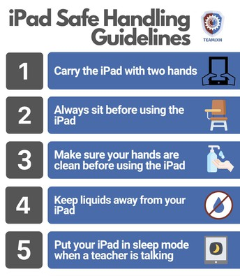 iPad Safe Handling Guidelines