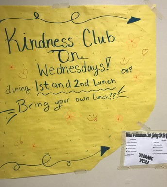 Kindness Club at OMS