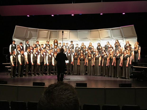 CHS Performing Arts Students