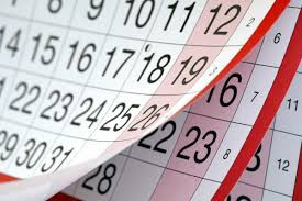 Change in Calendar for End of School Year