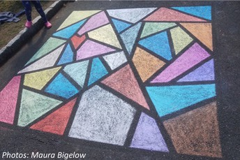 Getting into shapes by Laura overdeck