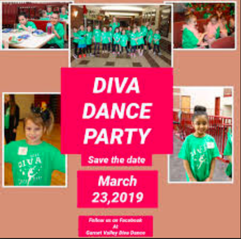 GVHS Dance Team Sponsors Diva Dance Party on March 23rd!