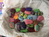 Kindness Rocks at Stephen Olney School