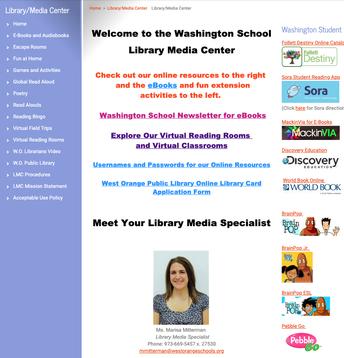 Washington School LMC Website