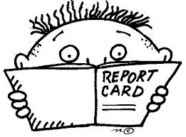 REPORT CARD INFO - 3RD MARKING PERIOD