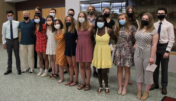 NHS Students Inducted into National Honor Society