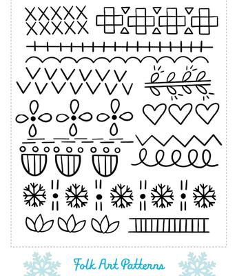 Folk Art Patterns