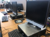 Desktops for student use and PRINTING