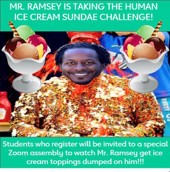 Human Ice Cream Sundae Challenge