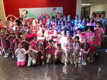 St. Bernards Celebrates Pink Day