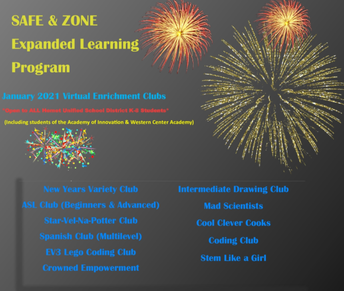S.A.F.E. Virtual Enrichment Program