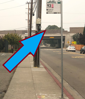 Bus Stop Moved Away from School Entrance