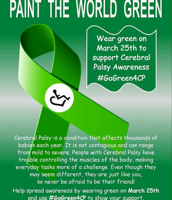 """""""Paint The World Green"""" on March 25th"""