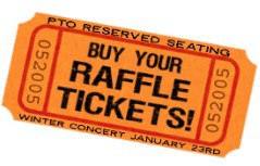 Winter Concert RESERVED SEATING Raffle