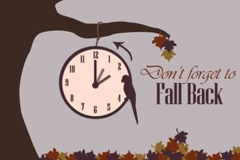 Daylight Savings Time ends