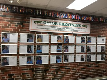 Student Recognition Display