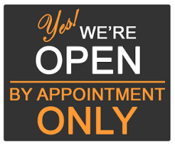 Appointments Needed for Office Visits