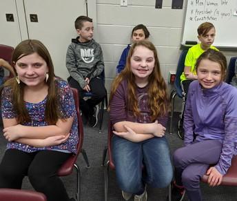 Chardon Middle School Spelling Bee Semi-Finalist Contestants