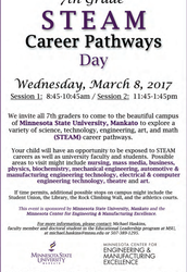 7th Grade Career Pathway Exploration Day Coming Soon!