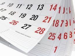 BC/DE Important Dates and Events