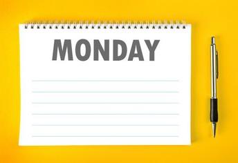 Monday, January 25