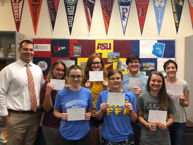 CHS Commended National Merit Students