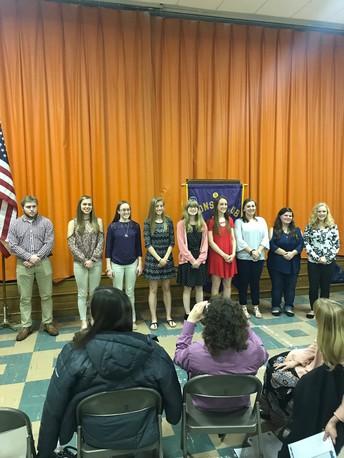 Senior Recognition at Jacksonville Lion's Club