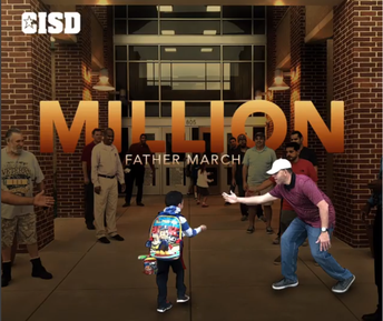 Crowley ISD Million Father March