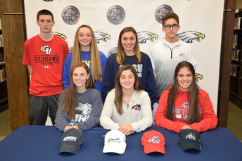 Students Sign National Letter of Intent