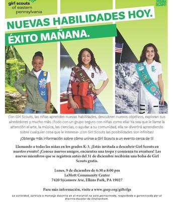 Girls Scouts Grados K-3