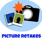 MONDAY - PICTURE RETAKES FOR ANY STUDENT 9-12